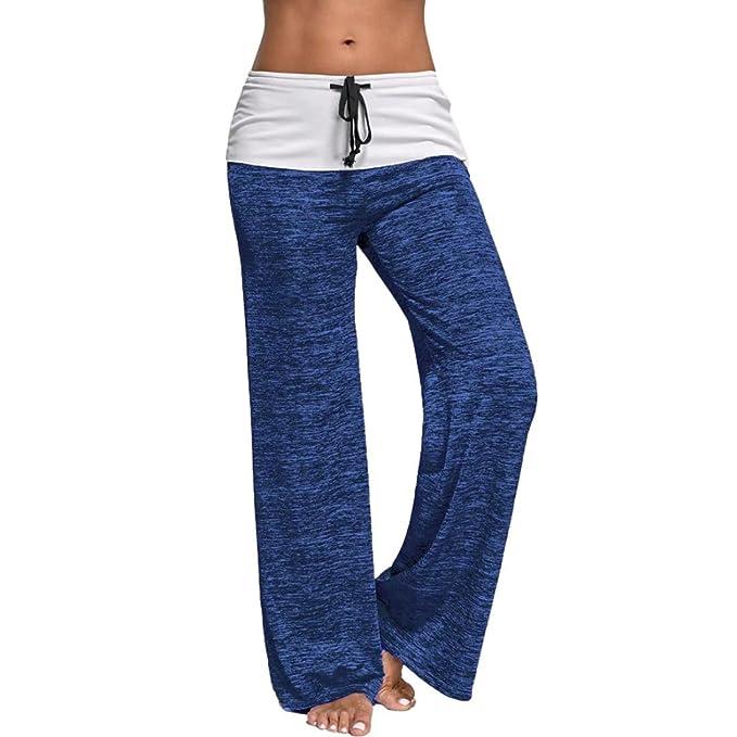 Amazon.com: jushye para mujer pantalones de pierna ancha ...