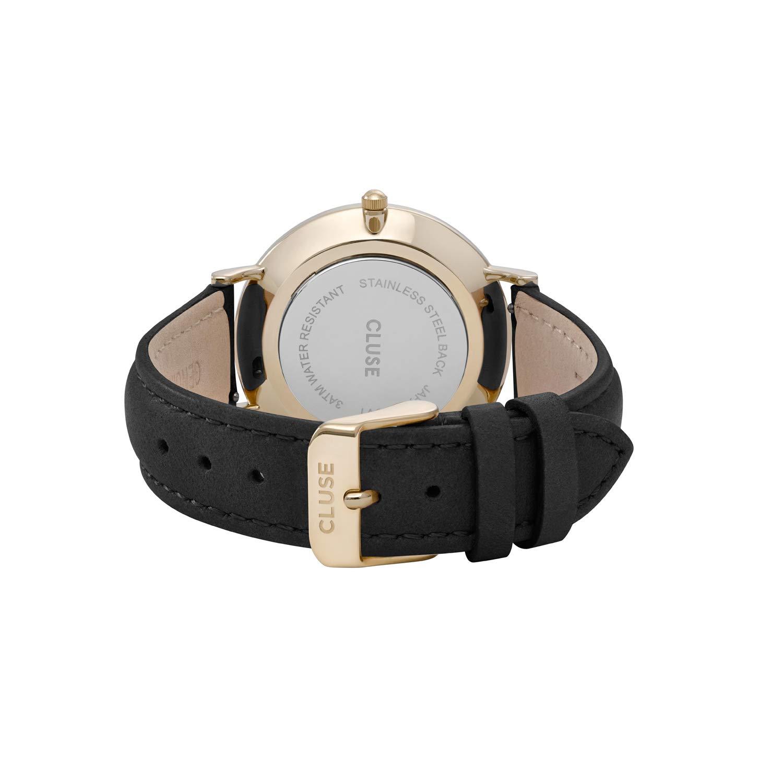 CLUSE Reloj Analógico para Mujer de Cuarzo con Correa en Cuero CL18401: Amazon.es: Relojes