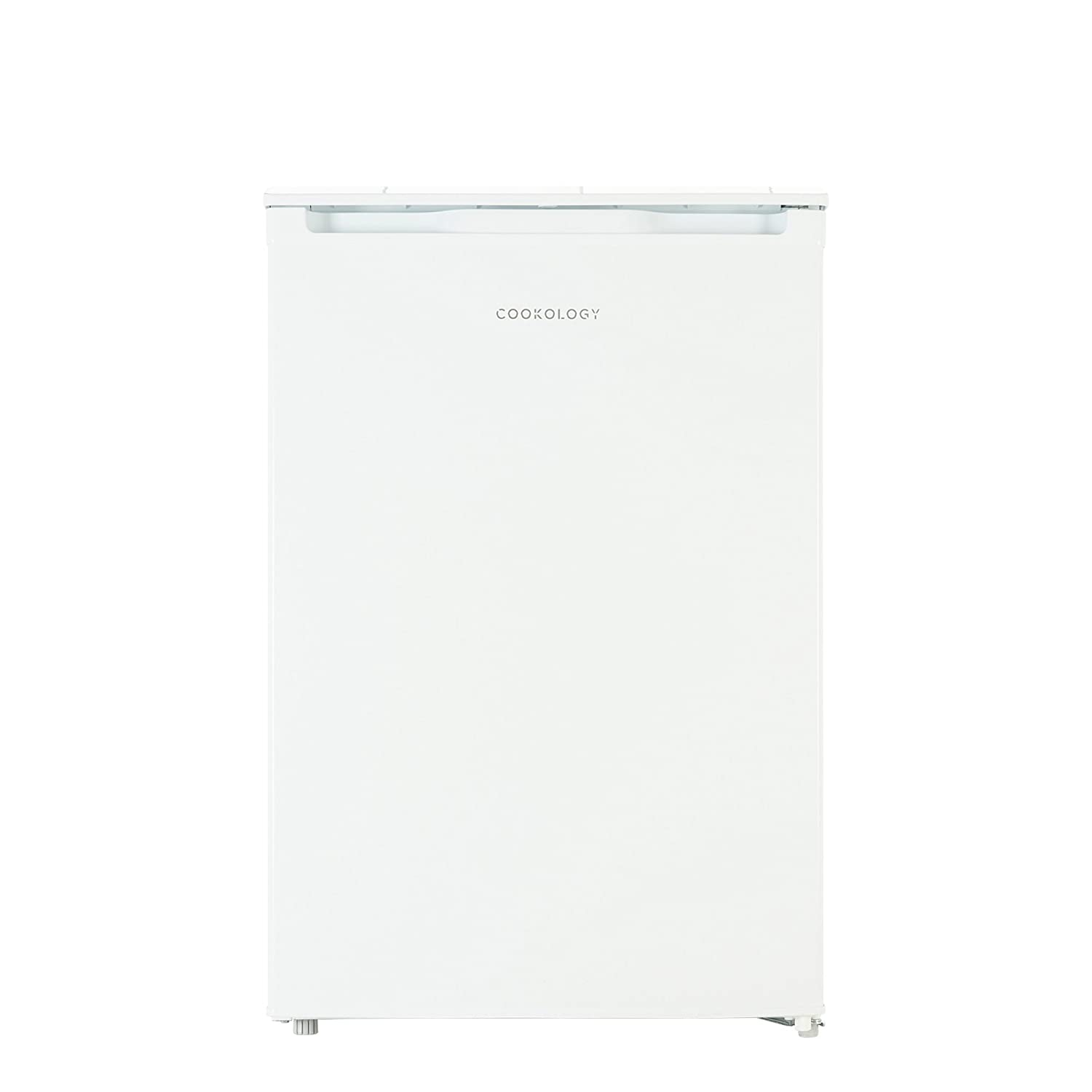 Cookology UCFZ86WH 55cm Freestanding Undercounter Freezer in White, 86 Litre [Energy Class A+]