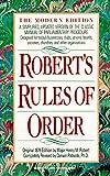 Robert's Rules of Order, Henry M. Robert, 042513928X