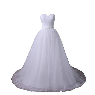 YIPEISHA Plus Size Wedding Dresses Sweetheart Sleeveless Corset Bridal Gown  with Pleats