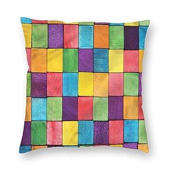 Amazon.com: Clayii - Funda de cojín abstracta para sofá ...