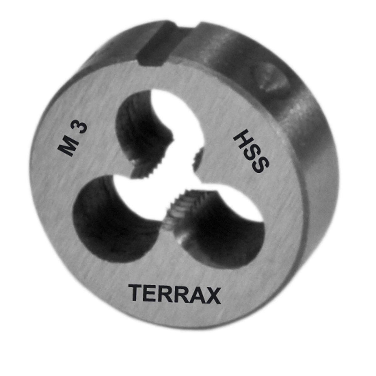 TERRAX by RUKO Schneideisen DIN 22568 Geschliffen M3