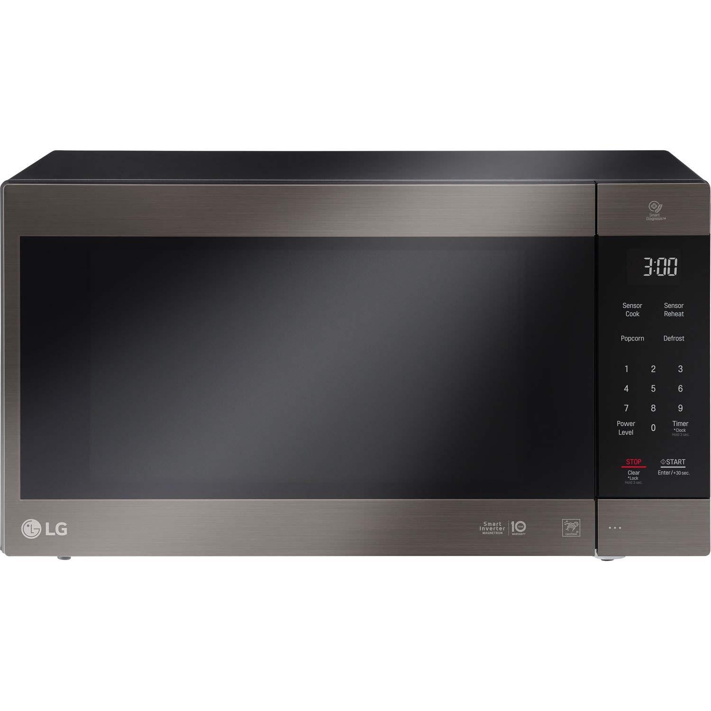 LG 2.0 Cu. Ft. NeoChef Countertop Microwave (LMC2075BD) Stainless Steel/Black (Renewed) by LG (Image #2)