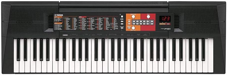 Yamaha PSR-F51 mejores pianos digitales Yamaha