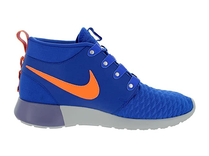 0e3cd0c5aba68 Nike Men's Roshe Run Sneakerboot Game Royal/Atomic Orange Running Shoe 10  Men US