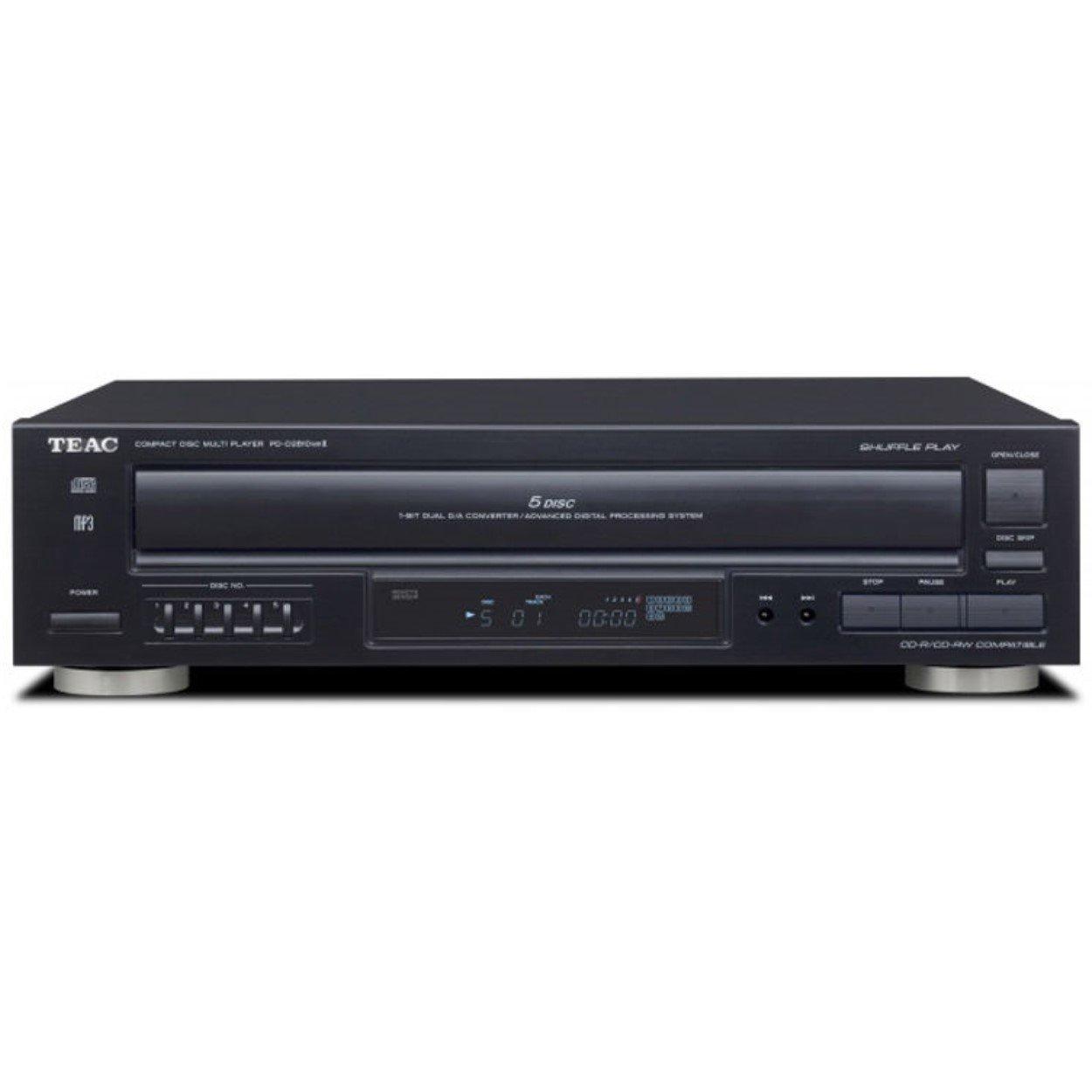 MP3 Teac PD-D2610MKII  PD-D2610MK2 5-Disc Carousel CD Player Remote CD,CD-R//RW