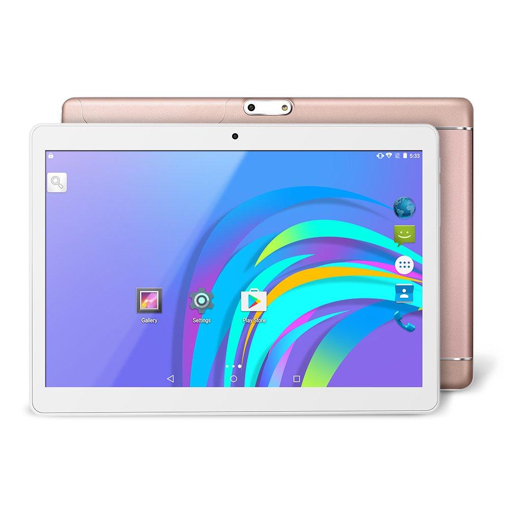 "YUNTAB Tablet PC K98 9.6 ""PlayStation tablet portátil (MT6580, A7Quad-Core, 1.3GHz, 1GB RAM, 16GB, Android 5.1, IPS, Wifi, GPS, TF Tarjeta de hasta 32GB) (SILVER) SZibo"