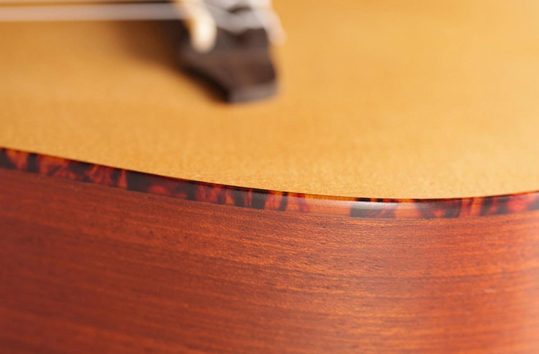 corps en acajou et table en /épic/éa Ortega RU5CE Guitare de concert avec micro /électrique