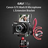 G7X Mark III Metal Cage, Vlog Extension Bracket for Canon G7X Mark iii