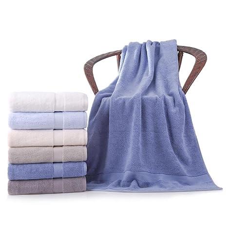 Toalla de baño de estilo fresco, teñido de lana de primera calidad 100% toalla