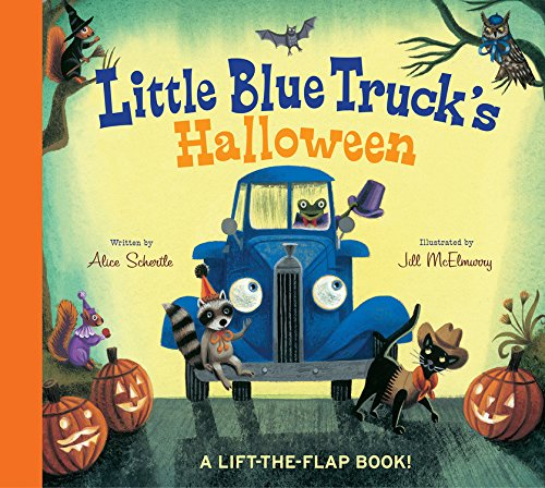 Little Blue Truck's Halloween (Halloween Rhymes For Kindergarten)