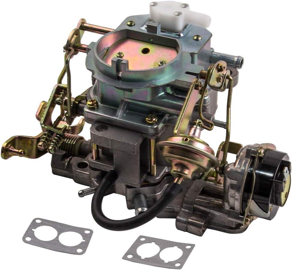 2-Barrel Carburetor for Jeep BBD 6 Cylinder 4.2L 258CU Engine with Gasket 180-6449