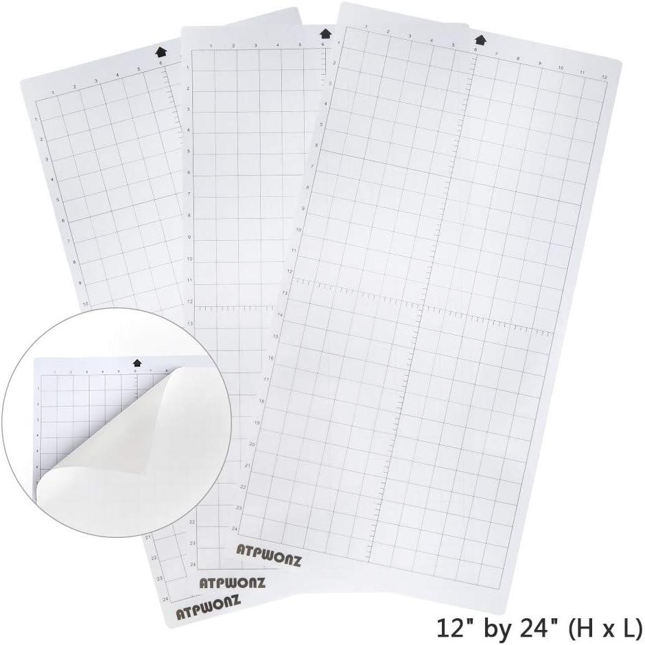 OFNMY Almohadilla de Corte - 3pcs Base de Corte PVC Viscosidad Automática (30.5 * 61cm): Amazon.es: Oficina y papelería