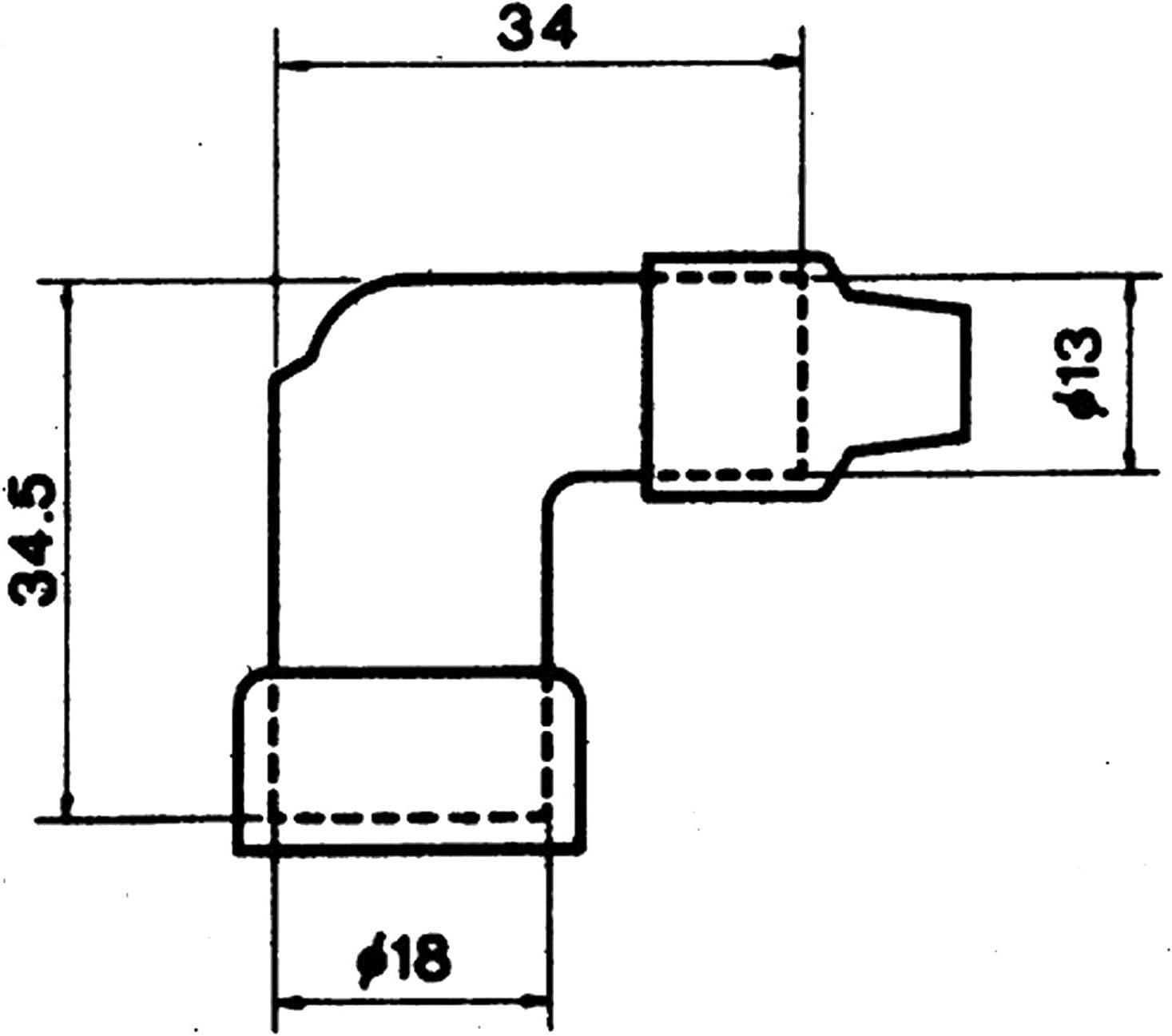NGK LZFH black Plug Cover