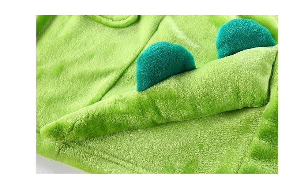 Handtuch mit Kapuze Weiche Tier Bad Poncho f/ür Jungen M/ädchen LIUONEXI Baby Flanell Pyjamas Bademantel