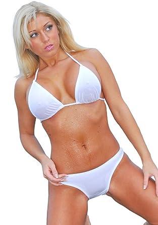 micro Wet bikini sheer