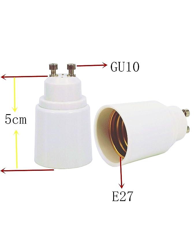 LogiLight LAMPADE Socket Adattatore gu10 a e27