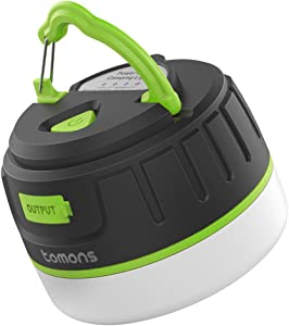 7. Tomons Rechargeable Camping Lantern