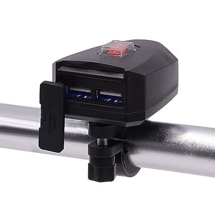 DC10-80V 2.4A Dual USB Moto ladegerät estanco con ...