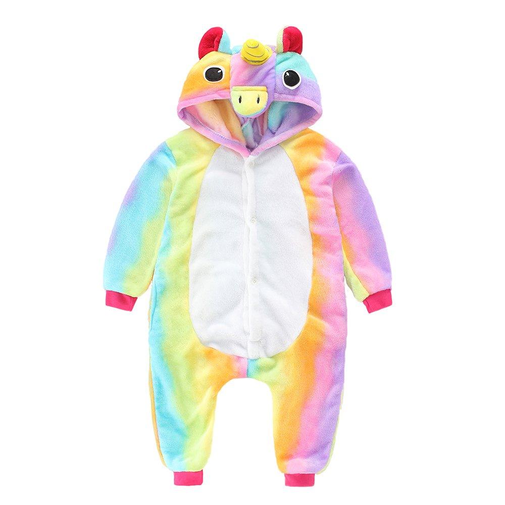 IEUUMLER Unisexe Animal Pyjama Animaux Enfant Combinaison Cosplay Outfit Vêtements de Nuit Déguisements IE003 (Height:88-102CM/85)