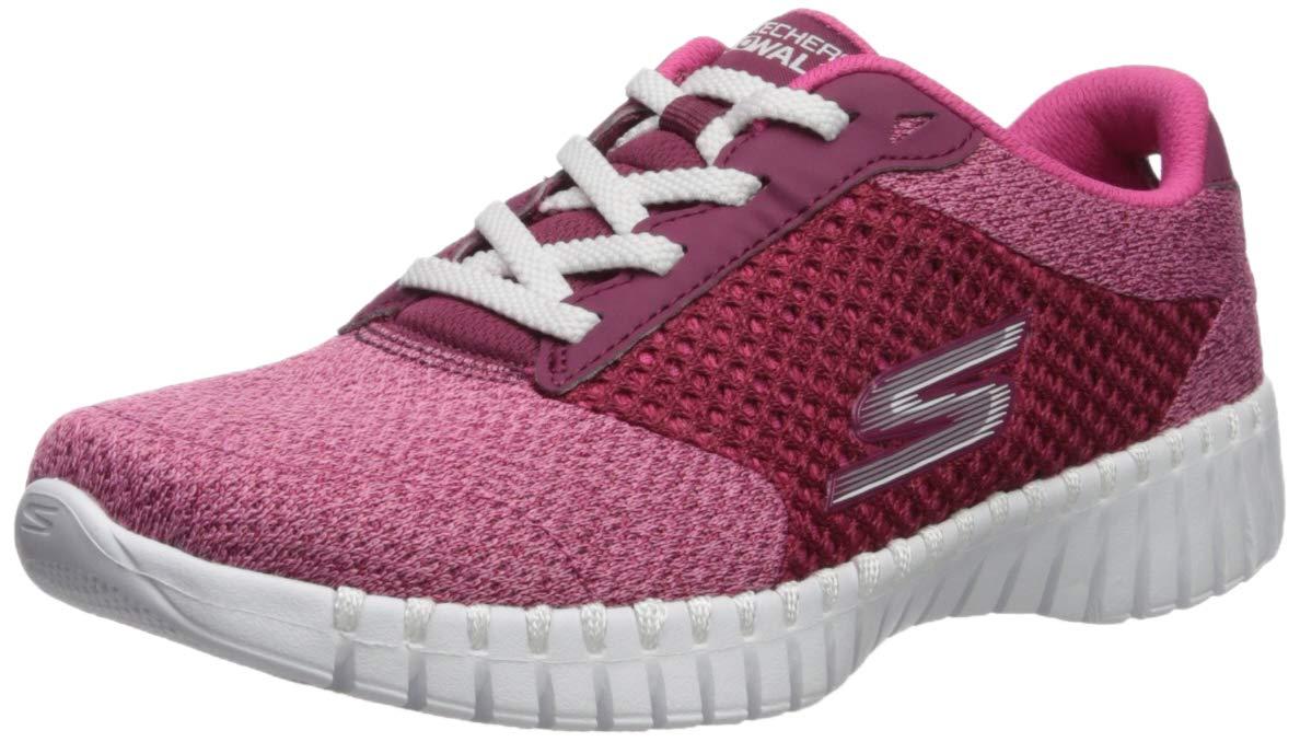 Skechers Women's GO Walk Smart - 16704 Shoe, Raspberry, 8.5 M US by Skechers