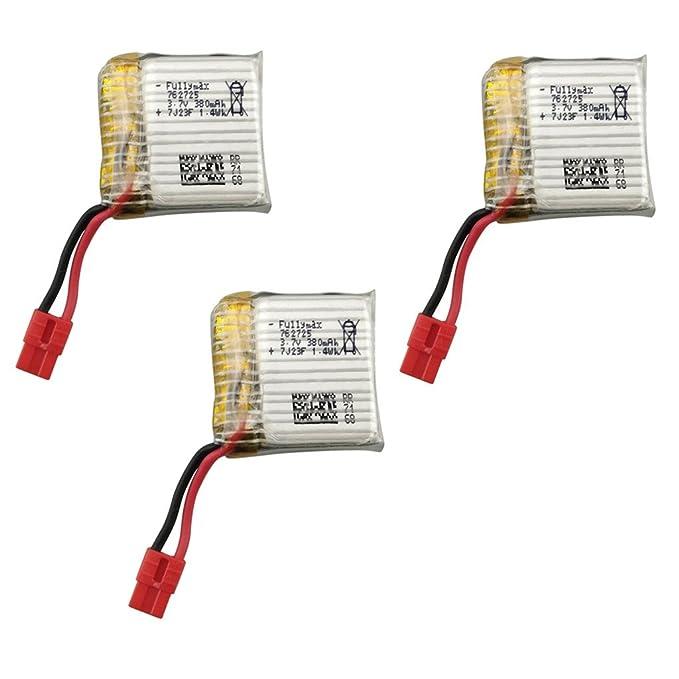 Fytoo Baterías de Repuesto para SYMA X21 X21W X26 Quadcopter RC ...