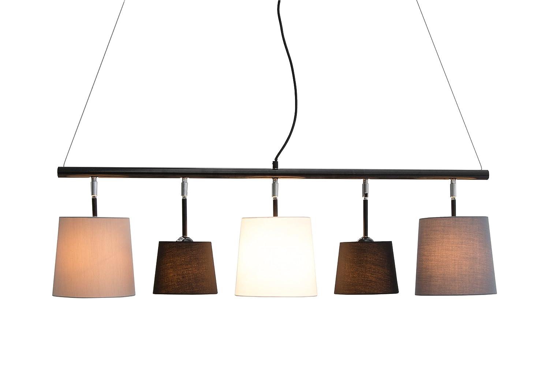 Dunord design hängelampe esszimmer pendellampe lampe schwarz weiß