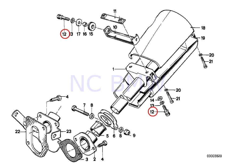 amazon bmw genuine fracture bolt automotive 84 BMW 325E