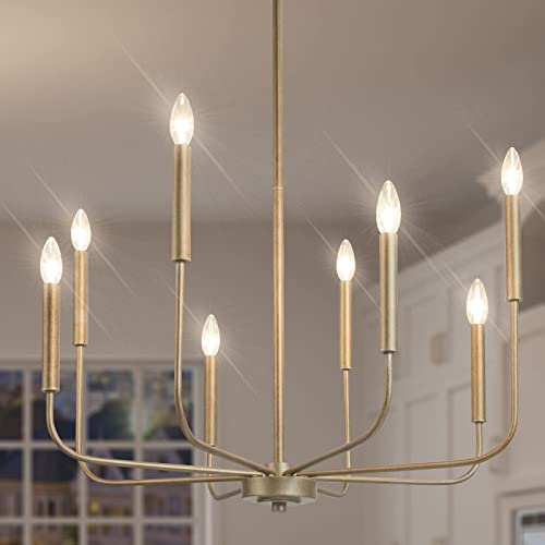 GEPOW Champagne Gold Chandelier