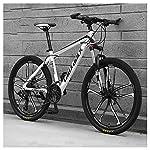 61J5Lb9kHTL. SS150 Bicicletta, 26 Pollici 24 velocità Biciclette, Pieghevole Bicicletta Mountain Bike, Bicicicletta MTB, Assorbimento degli…