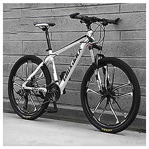 61J5Lb9kHTL. SS300 26 Pollici 21 velocità, ABicicletta, Bicicletta Mountain Bike, dulto Bicicletta MTB, Biciclette, Doppio Freno A Disco…