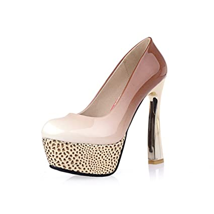 8cec88543a8e Women s Shoes Imitation Leather 2018 Spring Summer Fall Heels Wedding Party    Evening Dress Gradient Colour