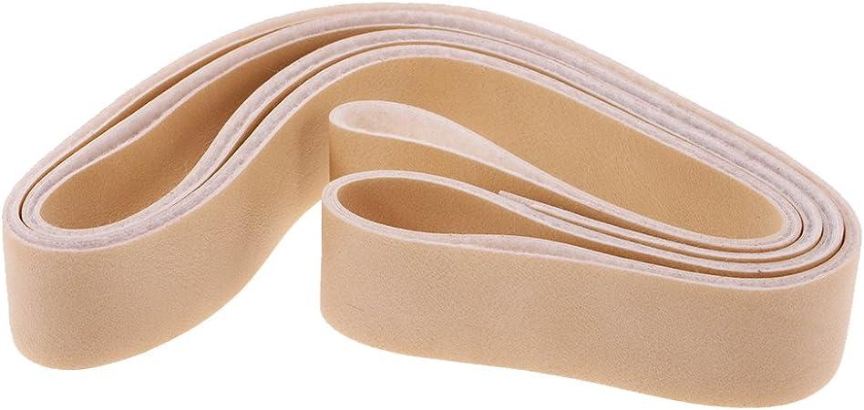 10/metros de largo, 2/cm de ancho Tiras de piel para manualidades Magideal