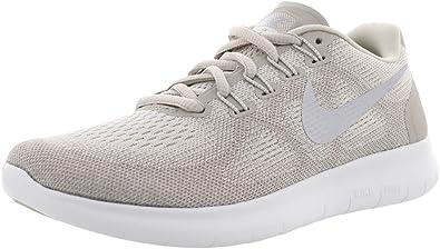 Interpretar malta Empírico  Amazon.com: Nike Free RN 2017 - Zapatillas de running para mujer, color  plateado metálico, gris pálido y blanco: Shoes