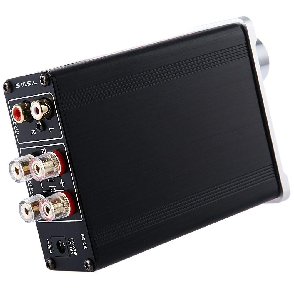 Smsl Sa 36a Pro 20wpc Tpa3118d2 Digital Amplifier Amp 12v Power Class D Circuit Tpa3116d2 Subwoofer Supply Silver Electronics
