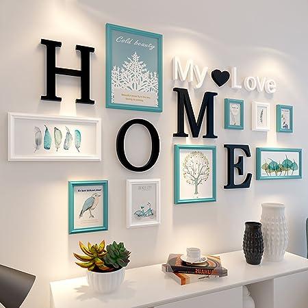 Zgp Home At Wall Photo Frame 9 Pcssets Collage Photo Frame Setvintage