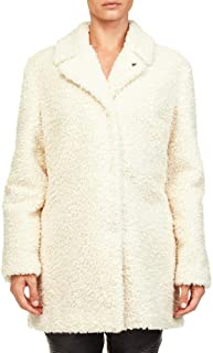MY TWIN Giacca in Shearling JA82KN White Size:XS