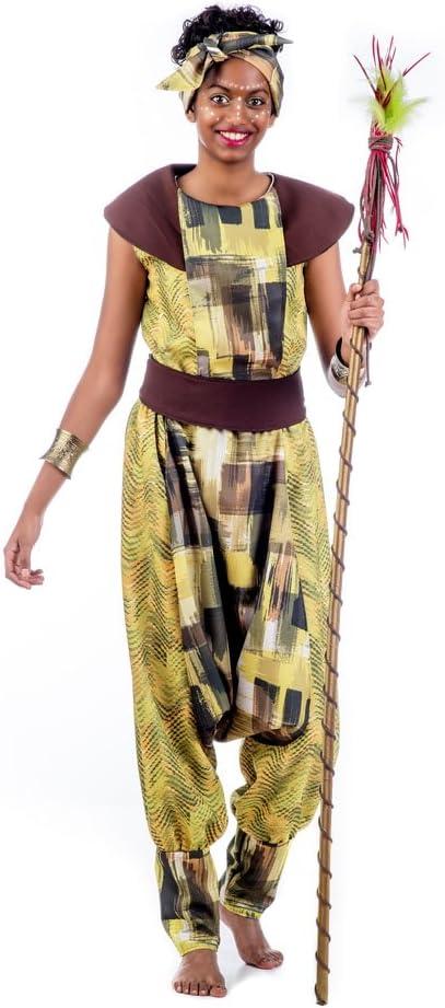 Limit Sport- Disfraz Africana Amina, M (EA212): Amazon.es ...