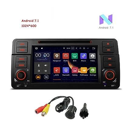 """Freeauto para BMW E46/320/325 Quad Core 7"""" Android 7.1 Radio con"""