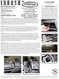 Padholder Edge Series Premium Tablet Dash Kit 06-11 Honda Civic & 06-09 Acura CSX (Canada) for iPad & Other Tablets