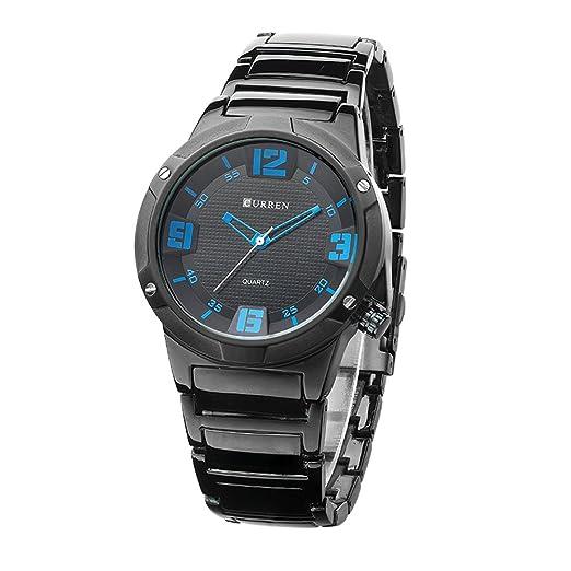 Los mejores relojes de cuarzo de los hombres de lujo de la marca se divierten los ...