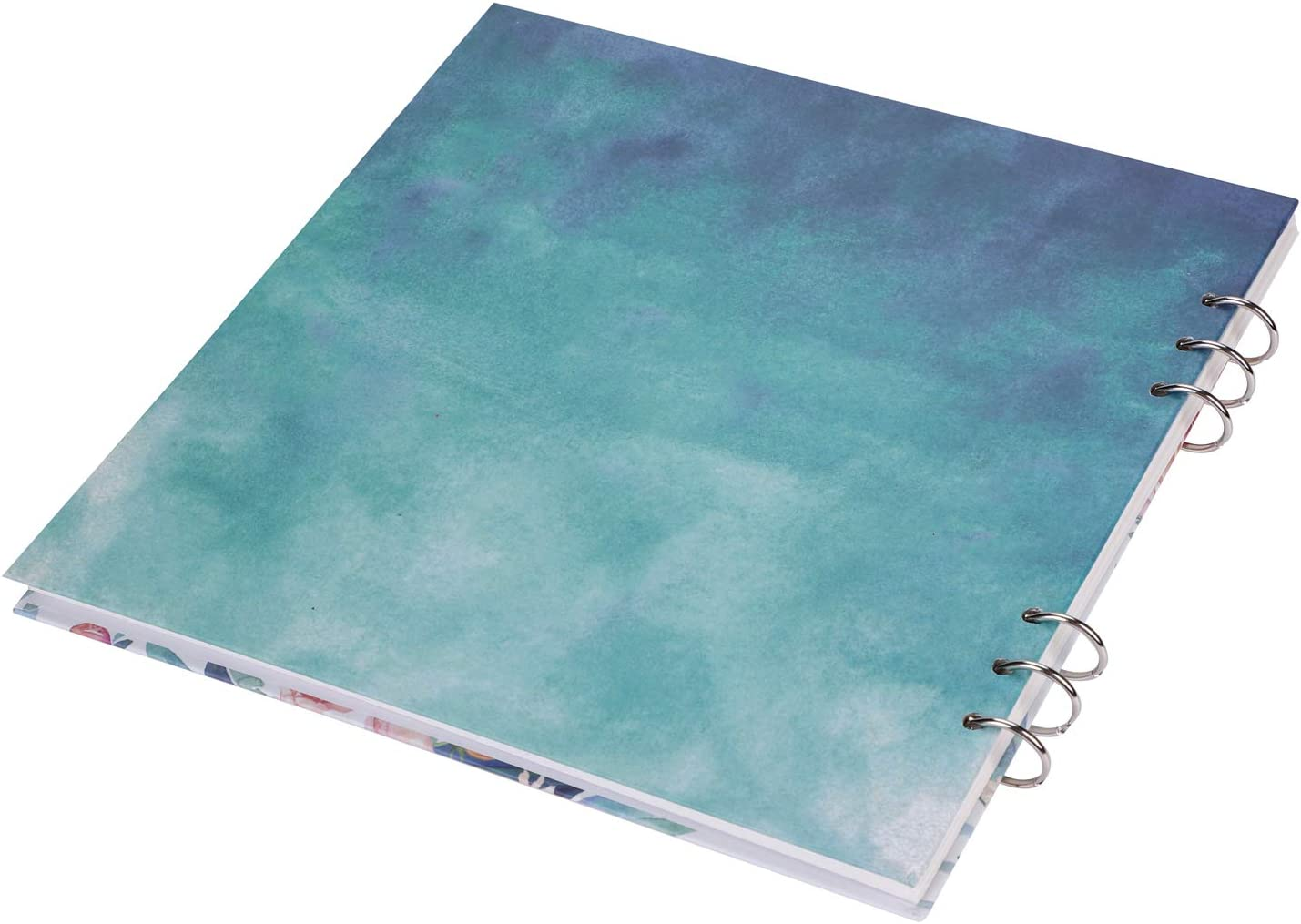 Artist Watercolor Paper Pad Pro Sketch Book Square Spiral Notebook Cold Pressed Acrylic Paper Refillable Oil Paint Pad Art Painting Template Mixed Media Watercolour Drawing Pad,10 X10 Inchs