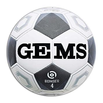 GEMS Balón Fútbol Bomber, Bianco, 4: Amazon.es: Deportes y aire libre