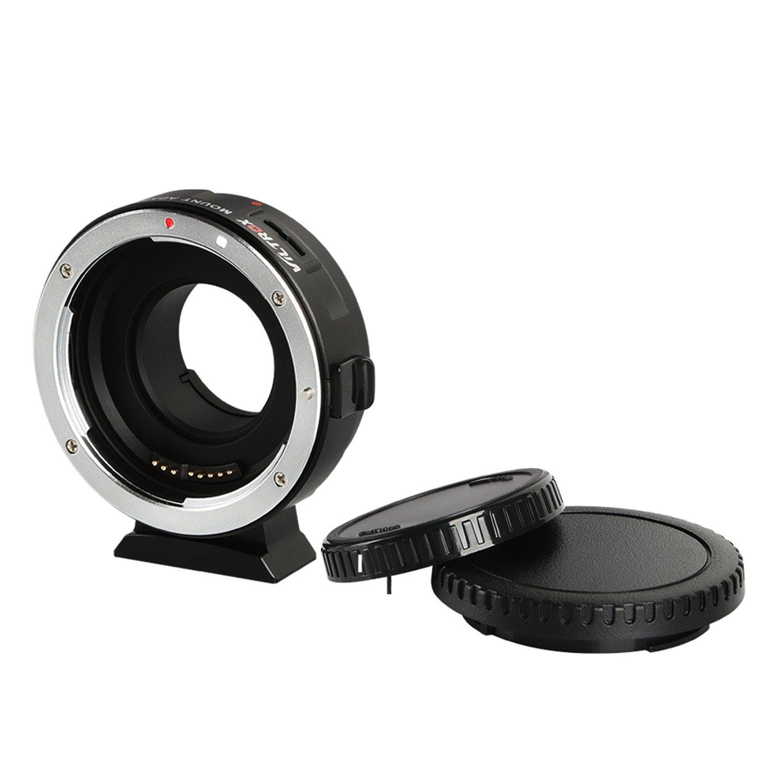 VILTROX EF-M1 Auto Focus Exif Lens Adapter for Canon EOS EF EF-S Lens to Micro Four Thirds EF-M43 cameras Camera GH4 GH5 GF6 GF1 GX1 GX7 E-M5 E-M10 E-PL5