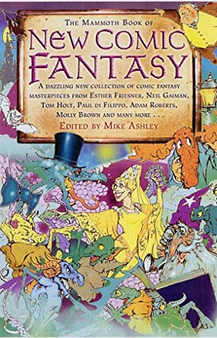 book cover of The Mammoth Book of Comic Fantasy