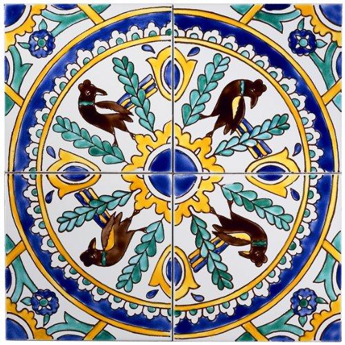 Amazon.com: Mediterráneo mosaico de azulejos, Carthage: Home ...