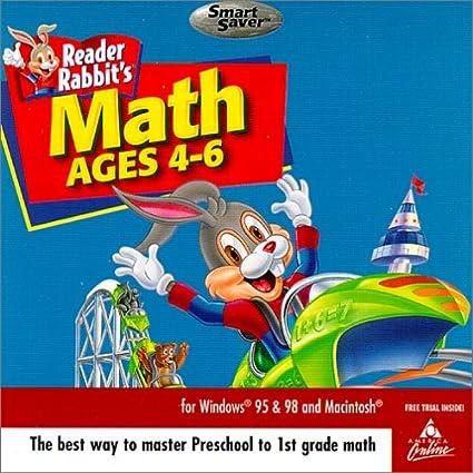 Amazon.com: Reader Rabbit Math Adventure Ages 4-6 (Jewel Case ...