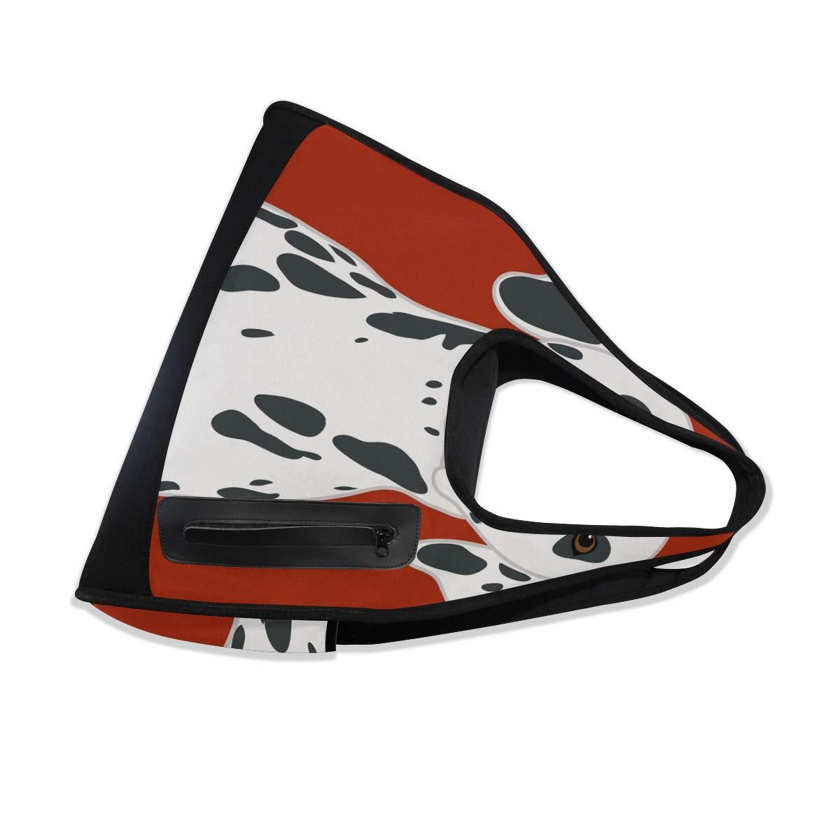 Animal Dalmatian Dog Women Sports Gym Totes Bag Multi-Function Nylon Travel Shoulder Bag
