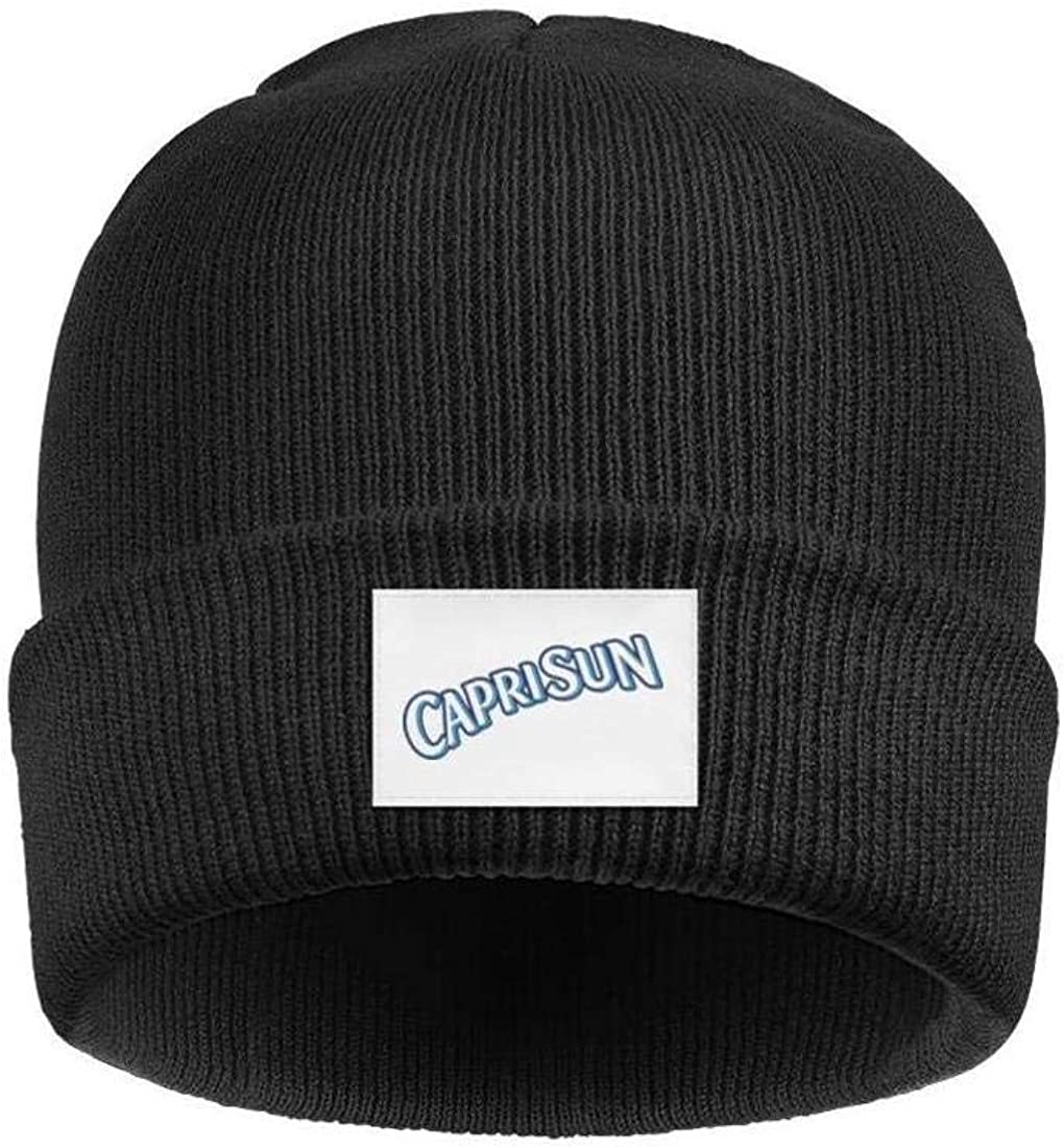 YJRTISF Popular Music Soft Slouchy Ski Knit Cap Capri-Sun Pattern Trending Beanie Skull Hats for Men